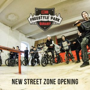 BMX street zone opening | VIDEO