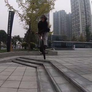 MICHAL KOVAČOVIČ / BMX STREET IN CHENGDU VIDEO